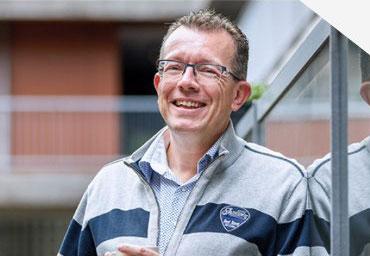 Mark Dijsselbloem, manager Vastgoed Woningbouwvereniging Hoek van Holland